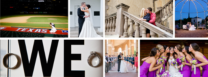 Wedding pricing and packages list by Dallas and Fort Worth wedding photographers.