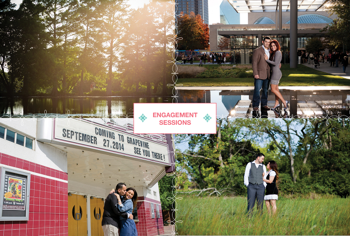 dallas engagement sessions